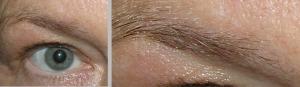 Om du ser så här med läsglasögon...kan du se som i den högra bilden när du använder SPEGELZOOM®.