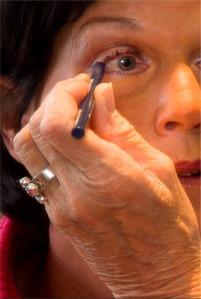 måla ögonen