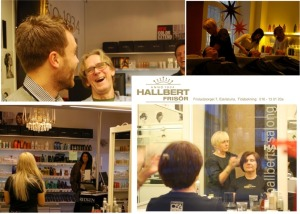 Hallberts Salong - en frisör med bra hjälpmedel till sina kunder.