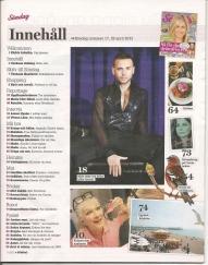expressen söndag innehåll -maj2012