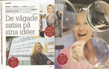 expressen uppslag