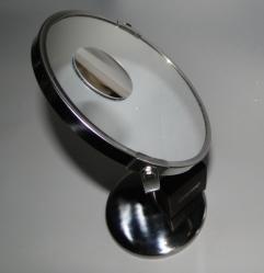 Spegelzoom No3 på en sminkspegel- i helformat